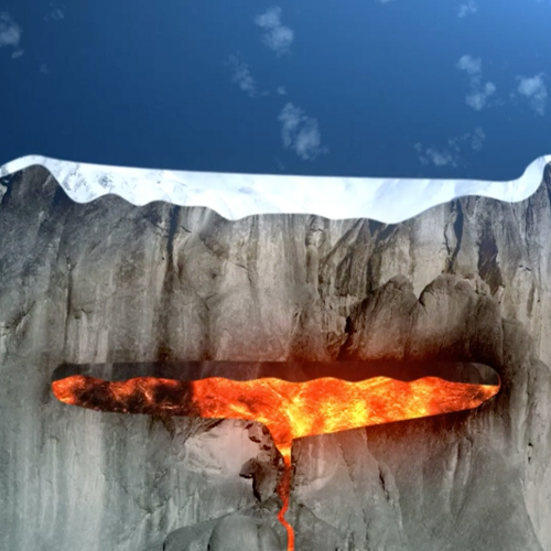 Volcanoes Live – Iceland Graphics
