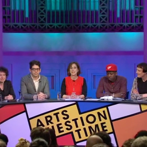 Arts Question Time – Titles and Set Branding