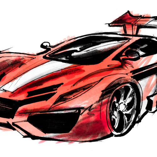 Car – Treatment Sketch