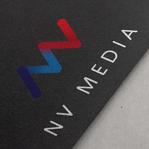 NV Media – Logo